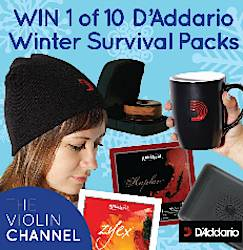 The Violin Channel D'Addario Winter Survival Packs Giveaway