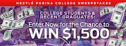 Nestlé Purina College Sweepstakes