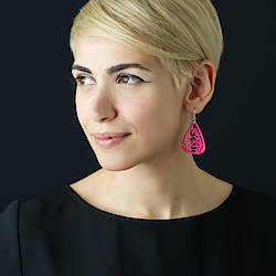 Thought and Sight: 3D Printed Butterfly Earrings Giveaway
