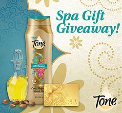 Tone Spa Gift Giveaway Sweepstakes