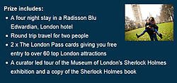 Visit London Four Night Stay in London Giveaway
