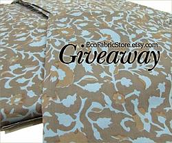 Art and Tree Chatter: Eco Fabric Giveaway