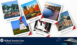 Holland America Line Discover Canada/New England Pinterest Sweepstakes