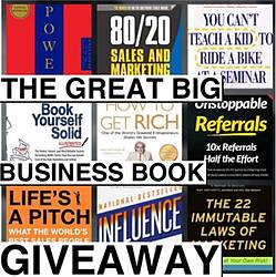 Mr Sales Training The Great Big Business Book Giveaway