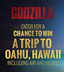 Warner Bros. Godzilla Sweepstakes