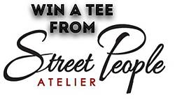 daily savant: Street People Atelier T-Shirt Giveaway