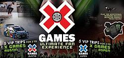 Monster Energy X Games Ultimate Fan Experience Sweepstakes