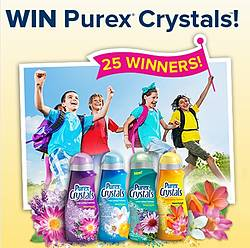 Get a Fresh Start to the School Year With Purex Crystals! Sweepstakes