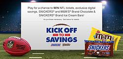 Mars Chocolate Kroger Kickoff to Savings Instant Win Game