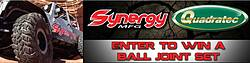 2014 Quadratec Synergy Manufacturing Heavy Duty Ball Joint Set Giveaway