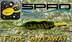 Wired2Fish SPRO Sports Professional Frog Giveaway