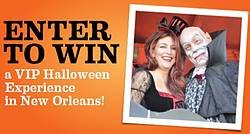 Southwest Airlines Spirit Magazine VIP Halloween in New Orleans Sweepstakes