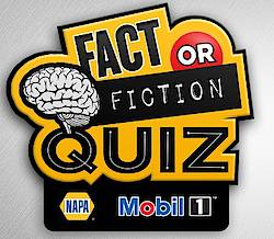 Mobil 1 Napa Fact or Fiction Sweepstakes