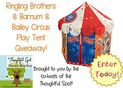 Enchanted Homeschooling Mom: Ringling Brothers & Barnum & Baily Circus Play Tent Giveaway