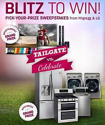 hhgregg Blitz to Win Sweepstakes