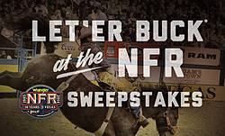 Pendleton Whisky's Let'er Buck at the WNFR Sweepstakes