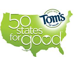 Tom's of Maine 50 States for Good Giveaway