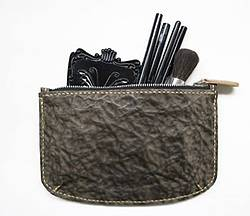 Subconscious Leather Zipper Pouch Giveaway