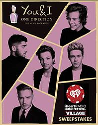 iHeartRadio One Direction You and I iHRMF Village Sweepstakes