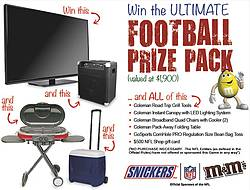 Fall Into Football With Mars & GFS Marketplace Sweepstakes