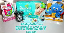 A New Dawnn: #BabyGotMoves Giveaway