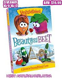 NaturalHairLatina: Veggie Tales Beauty and the Beet DVD Giveaway
