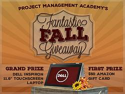 Project Management Academy Fantastic Fall Giveaway