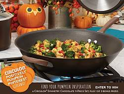 Circulon Positively Pumpkin Pinterest Giveaway