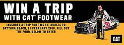 Cat Footwear Fans Start Your Engines Sweepstakes