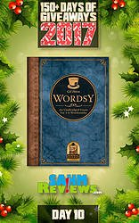 SAHM Reviews: 150+ Days of Giveaways - Day 10 - Wordsy Game Giveaway