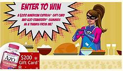 AZO Gives Thanks Sweepstakes
