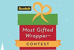 Ellen Presents: The Scotch Brand's Most Gifted Wrapper Contest