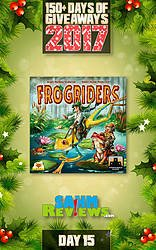 SAHM Reviews: 150+ Days of Giveaways - Day 15 - Frogriders Game Giveaway