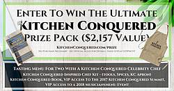 Kitchen Conquered Ultimate Home Chef Prize Pack Giveaway