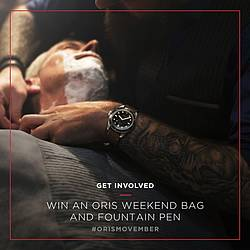 Oris Weekend Bag Contest