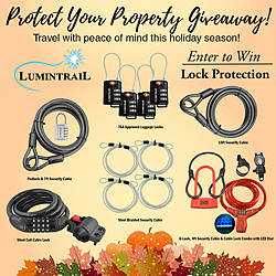 Protect Your Property Over the Holidays Giveaway