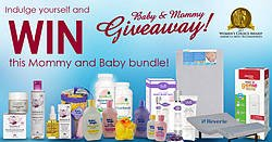 Women's Choice Award Indulge Yourself and WIN This Mommy and Baby Bundle