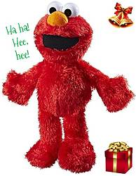 Pausitive Living: Sesame Street Tickle Me Elmo Plush Toy Giveaway