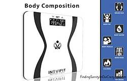 Finding Sanity in Our Crazy Life: INEVIFIT Body Analyzer Scale Giveaway