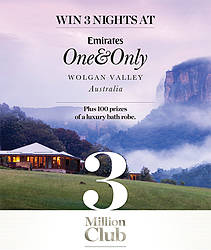 Sealy Win 3 Nights Away at the Exclusive Emirates 'One & Only' Wolgan Valley