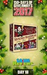 SAHM Reviews: 150+ Days of Giveaways - Day 18 - Munchkin Shakespeare Game Giveaway