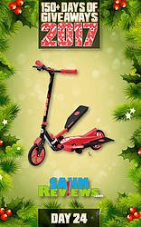 SAHM Reviews: Day 24 - Y Flyer Scooter Giveaway