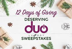 La-Z-Boy 12 Days of Giving Sweepstakes