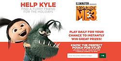 Despicable Me 3 Find Kyle a Friend Instant Win Game