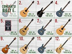 Moore Music 12 Days of Giveaways