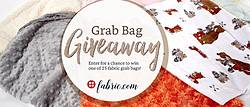 Fabric Holiday Grab Bag Giveaway