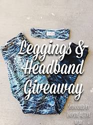 Green Chic Life: Eco-Friendly Leggings and Headband Giveaway
