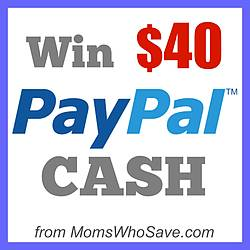 Momswhosave: $40 Paypal Cash Giveaway