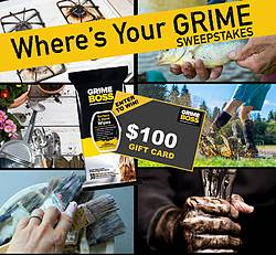 GRIME BOSS Where's Your Grime Sweepstakes
