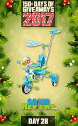 SAHM Reviews: Day 28 - 4-in-1 Stroll & Grow Tek Trike Giveaway